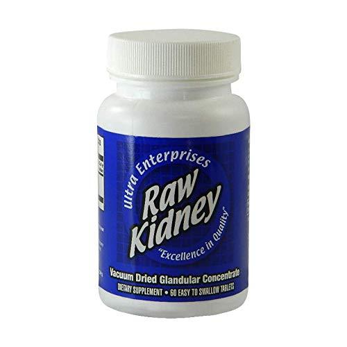 Ultra Glandulars Ultra Raw Kidney 200Mg 60 Tab