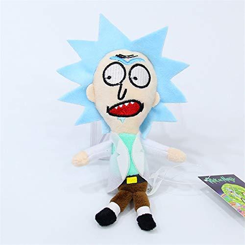 tianluo Stofftier Rick Und Morty Plüschtiere Cartoon Comic Rick Morty Großvater Puppen Peluche Spielzeug Cosplay Geschenk 15cm