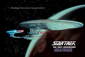 Star Trek - TV Show Poster USS Enterprise 1701-D (Size: 40'' x 27'')
