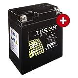 YTX7L-BS Tecno Gel-bateria para VT 125C Shadow Año 2006-2008