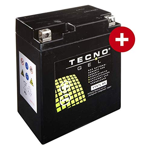 YTX7L-BS Tecno Gel-batteria per Vl 250 LC Intruder Anno 2000-2001