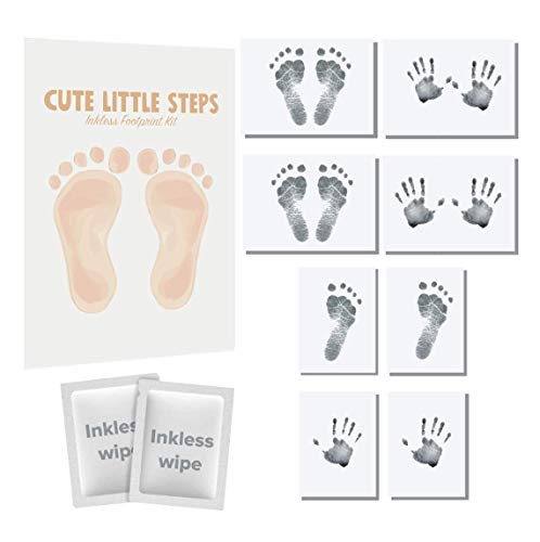 Cute Little Steps® Baby Foot and Handprint Kit - Perfect Baby Gifts &...