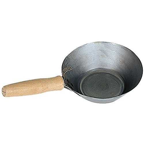 KAUFMANN 42.057.01 Maurerpfandl aus blankem Stahlblech ø 180 mm