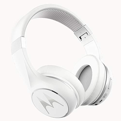Motorola Escape 220 - Auriculares y Cascos HD Sound Bluetooth - Compatible con Alexa, Siri y Google Now - Blanco