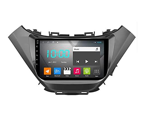YIJIAREN Radio GPS Navegación para Chevrolet Malibu 2015~2019, Pantalla táctil 2.5D Android 10.0 Coche Estéreo Sat Nav Soporte de Control del Volante BT Mirror-Link 4G WiFi