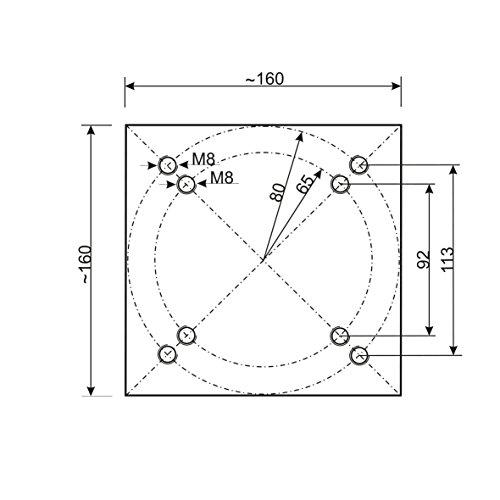 Schneider Universal-Bodenplatte - 5