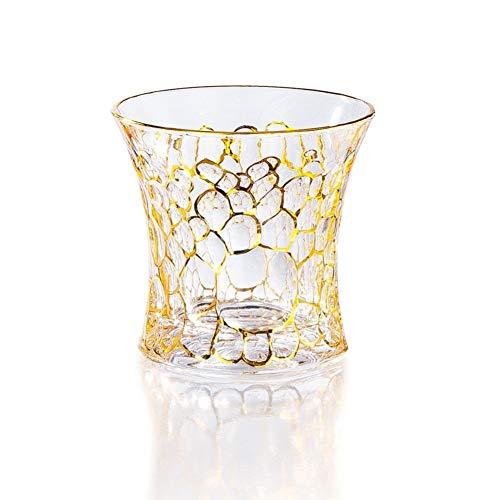 ZKGHJOKZ Whiskyglas Scheve toren van Pisa Schuin ontwerp Smaakvol Whisky Rockglas Wijnglas Xo Brandewijn Snifer Chivas Whiskybeker