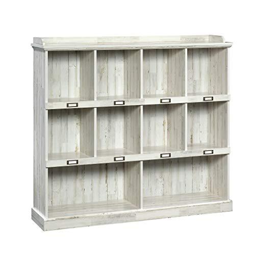 Sauder Barrister Lane Bookcase L 5315 x W 1213 x H 4752 White Plank finish