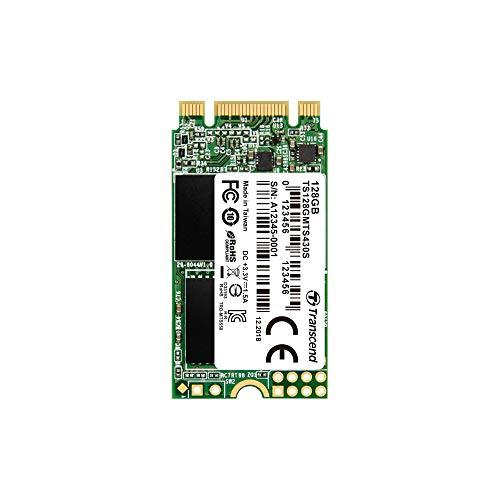Transcend SSD M.2 2242 128GB SATA III 6Gb/s 3D TLC NAND DDR3 DRAMキャッシュ搭載 5年保証 TS128GMTS430S