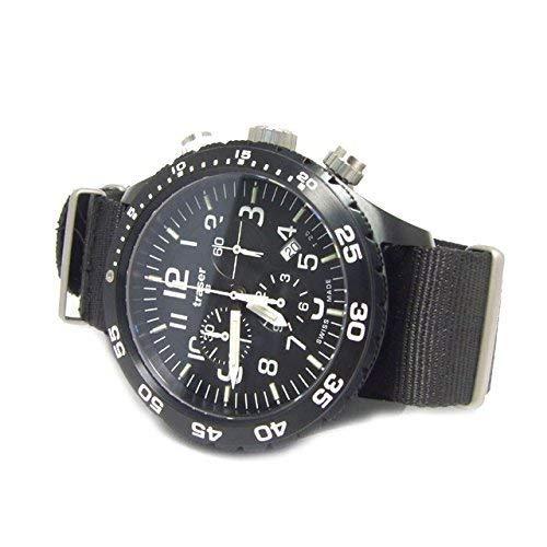 Traser腕時計ミリタリーウォッチOfficer Chrono Proクロノグラフすべてブラックp6704.4a3.i2.01メンズ9031555