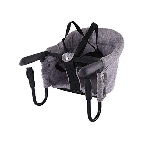 CJY- Cushion Tabla Portable Trona, Gancho Plegable del bebé en el Asiento...