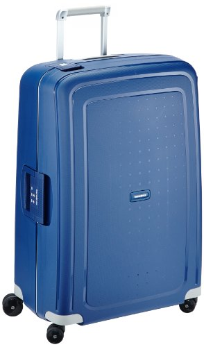 Samsonite S'Cure Spinner L Maleta, 75 cm, 102 L, Azul (Dark Blue)