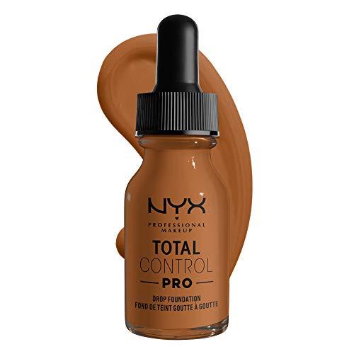 NYX PROFESSIONAL MAKEUP Total Control Pro Drop Foundation, Almond