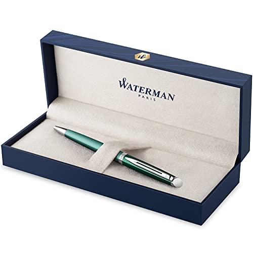 Waterman Kugelschreiber | Hemisphere French Riviera Collection | Château Vert | mittlere Spitze | Geschenkbox
