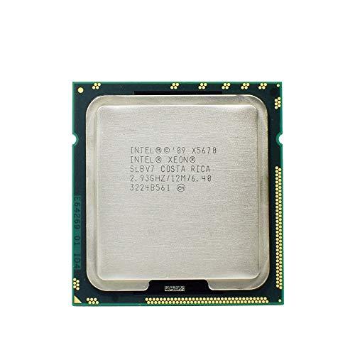 Intel SLBV7–Upgrade von Intel Xeon X5670Prozessor (12M Cache, 2.93GHz, 6.40GT/s Intel QPI)