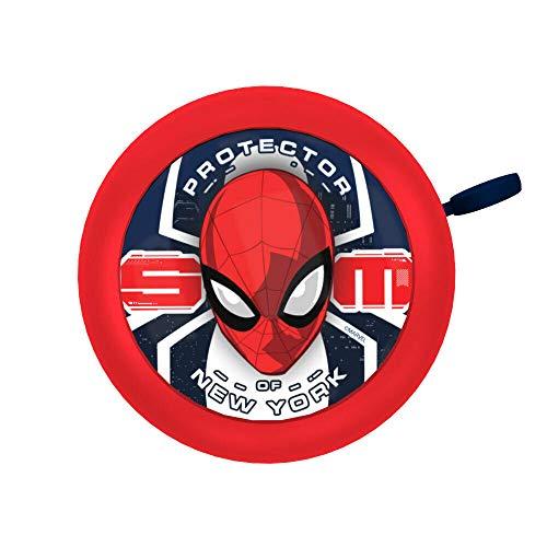 SolaDirect Marvel Spider-Man - Campanello per bicicletta da ping pong, ottima idea regalo per bambini e bambini