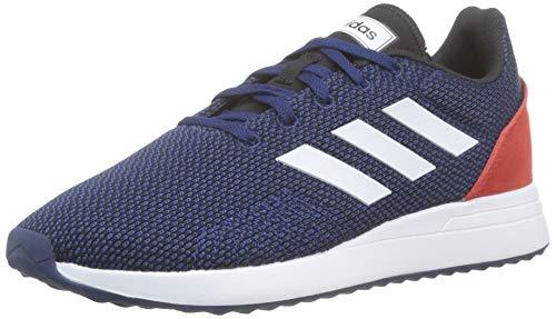 adidas Run 70s, Scarpe Running Unisex-Bambini, Blu (Dkblue/Ftwwht/Hirere Dkblue/Ftwwht/Hirere), 29 EU