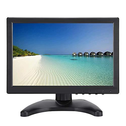 Monitor IPS Full HD de 10.1 Pulgadas (1920 x 1200P) - Monitor portátil Monitor Plano Monitor de PC Monitor HDMI Ultrafino Visualización de Pantalla 16:10 para Uso doméstico, oficinas y Viajes(EU)