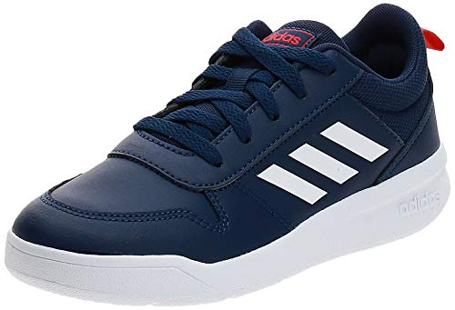 adidas Tensaur K, Zapatillas de Trail Running Unisex niños, Bleu Foncã Blanc Rouge, 28 EU