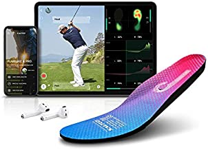 Salted Smart Insoles - Golf & Fitness Activities | Smart Fitness | Analyzes Golf Swing Posture Through Balance and Foot Pressure, Compatible Apps for Android/iOS, IoT Wearable Device, IP68 Waterproof