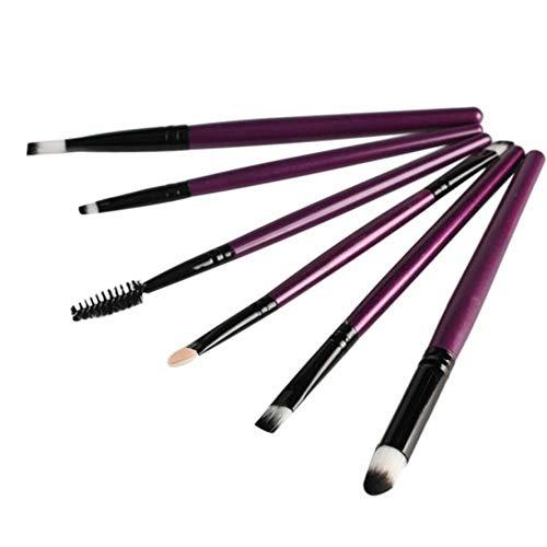 HZFROST 6 stuks cosmetica make-up kwast lippen make-up kwast oogschaduw kwast kwast maquiagem