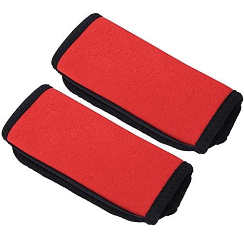 YXZQ Periféricos de Kayak 2 Unids Paddle Prans Anti Skid Canoa Kayak Barco Oar Neopreno Grips Rowing Boat Paddle Agarras Accesorios de Barco Utilizado para la reparación de Kayak (Color : Red)