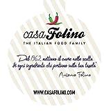 Espaghettada Melanzanas y Zucchinas 90 g en tarro de cristal reutilizable y reciclable. Preparado para pasta ideal para platos vegetarianos y veganos. Fabricado en Italia – Especias Casafolino