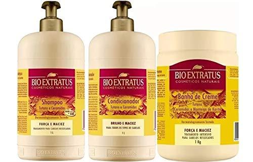 Tutano E Ceramida 3 Produtos 1lt Bioextratus