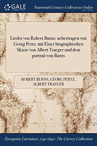 Burns, R: Lieder Von Robert Burns