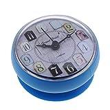 #N/A ポータブルミニバスルーム時計シャワー時計キッチンマグ - 青