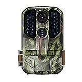 LXLTL Cámaras de Caza 14MP Velocidad de Disparo 0.6s Nocturna IP65 Impermeable Cámara de Fototrampeo con Detección de Acción 36pcs IR Leds Invisibles