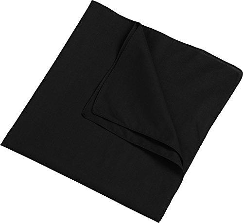 Myrtle Beach Bandana Kopftuch, Biker Tuch, Piratentuch, viele Farben Schwarz