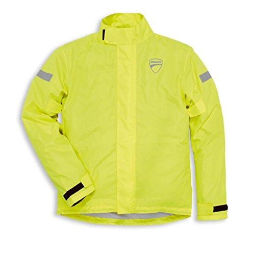 Ducati 981028305 Strada - Chaqueta impermeable para hombre, talla grande