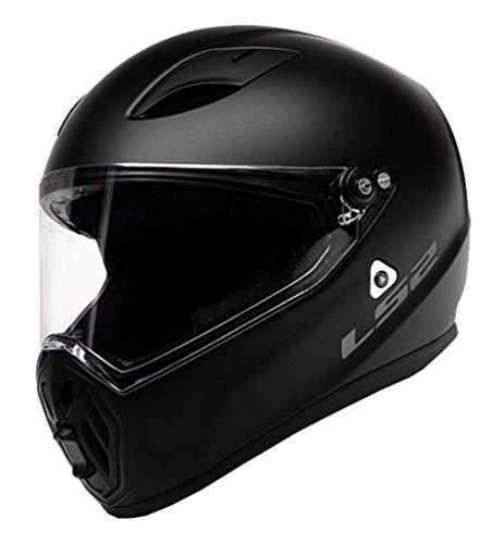 LS2 Helmets Street Fighter 2020 Helmet (Matte Black - X-Large)