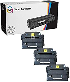 LD Compatible Toner Cartridge Replacement for HP 51X Q7551X High Yield (Black, 3-Pack)
