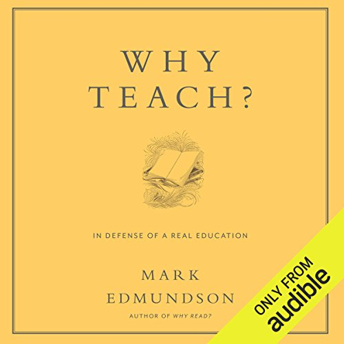 Why Teach? audiobook cover art