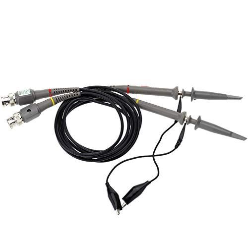 TuToy P6020 De Alta Precisión X1/X10 20Mhz Osciloscopio Sonda Alligator Clip