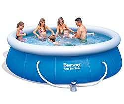 Bestway 57166 Fast Set Pool mit Filterpumpe NL, 366 x 91 cm