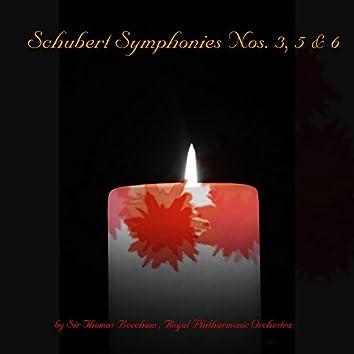 Schubert: Symphonies Nos. 3, 5 & 6