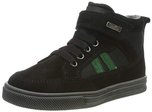 Richter Kinderschuhe Jungen Ola Hohe Sneaker, Schwarz (Black/Turtle 9901), 31 EU