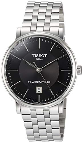 Tissot Men's Carson POWERMATIC 80 Automatic Stainless Steel T1224071105100