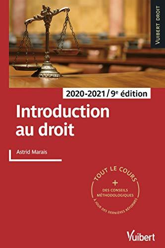 Introduction au droit 2020-2021