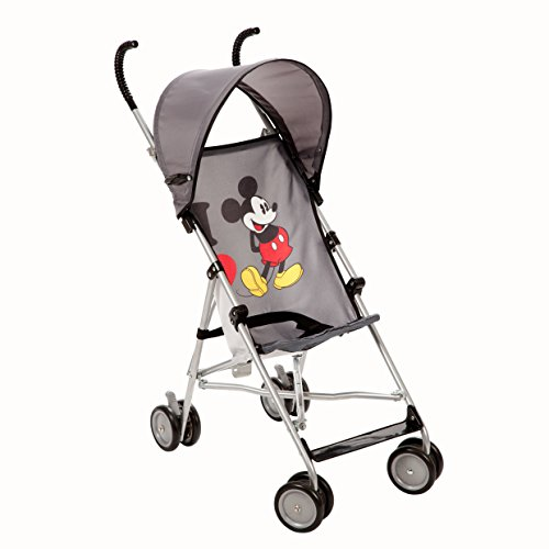 Product Image of the Disney Umbrella Stroller with Canopy, I Heart Mickey
