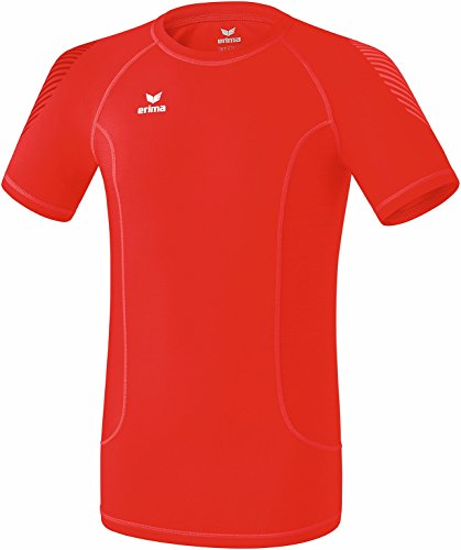 Erima 2250711 T-Shirt de Base Rouge FR : S (Taille Fabricant : S)