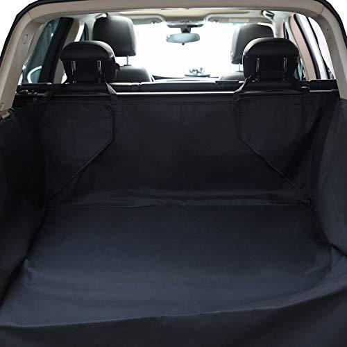 HONCENMAX Cane Veicolo Protezione Bagagliaio Auto Copertura per Sedile Cani Animale Domestico Coprisedile Stuoia Antiscivolo Impermeabile Universale per SUV Camion Jeep Furgoni