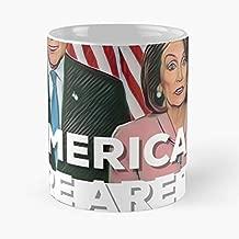 Nancy Pelosi Chuck Schumer Funny Christmas Day Mug Gifts Ideas For Mom - Great Ceramic Coffee Tea Cup