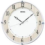 セイコークロック 掛け時計 メープル調木目 本体サイズ:30.7×30.7×4.9cm 電波 アナログ KX242B