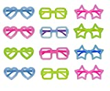 Neon Color Fun Party Goggles for KDS Birthday Return Gifts (Set of 12)