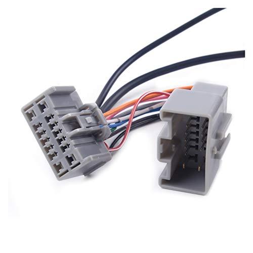 YUKE Cable de Altavoz Cable de Audio Adaptador Bluetooth de 14 Pines Fit para Volvo C30 / S40 / V40 / V50 / S60 / S70 / C70 CD Radio con Entrada AUX Audio de automóvil