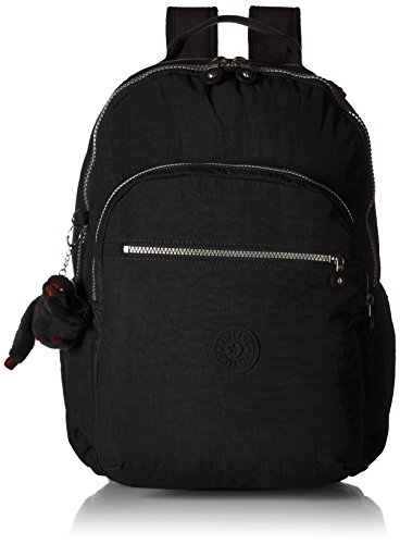 Kipling womens Seoul Go Black Laptop Backpack, black, One Size